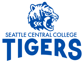 Seattle Central College Bengal Tigers mascot logo